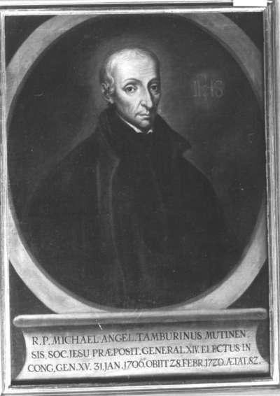 Bildnis des Jesuiten Michelangelo Tamburinus