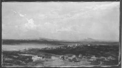 Spanische Landschaft (Skizze)