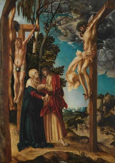 Klage unter dem Kreuz