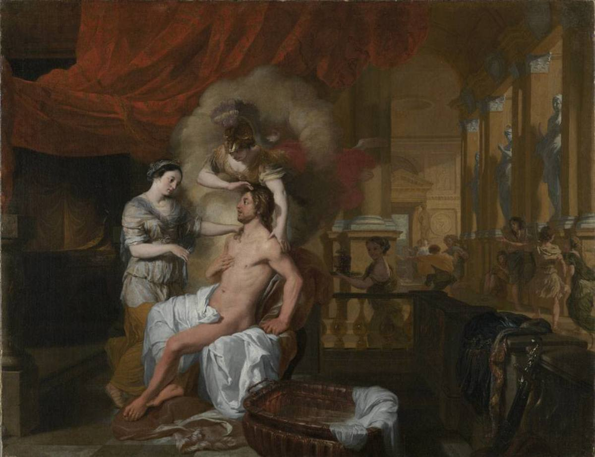 Die Rückkehr des Odysseus nach Ithaka