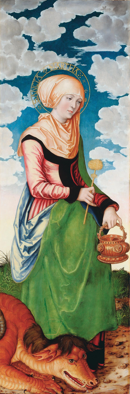 Magdalenenaltar: Hl. Martha