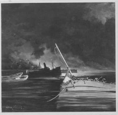 Der Hafen von Toulon a. 27.XI.42
