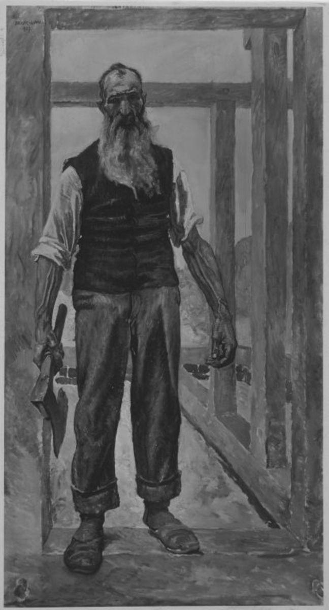 Ein Zimmermann