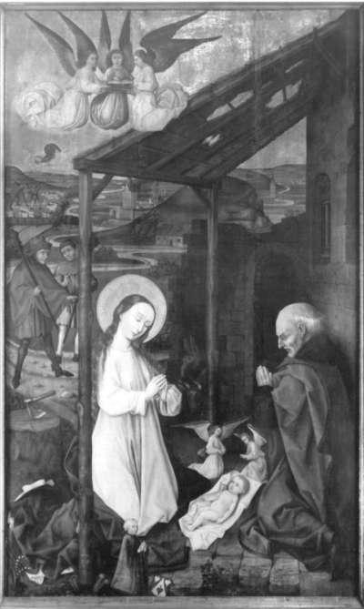Altar des Marcus Landauer: Geburt Christi