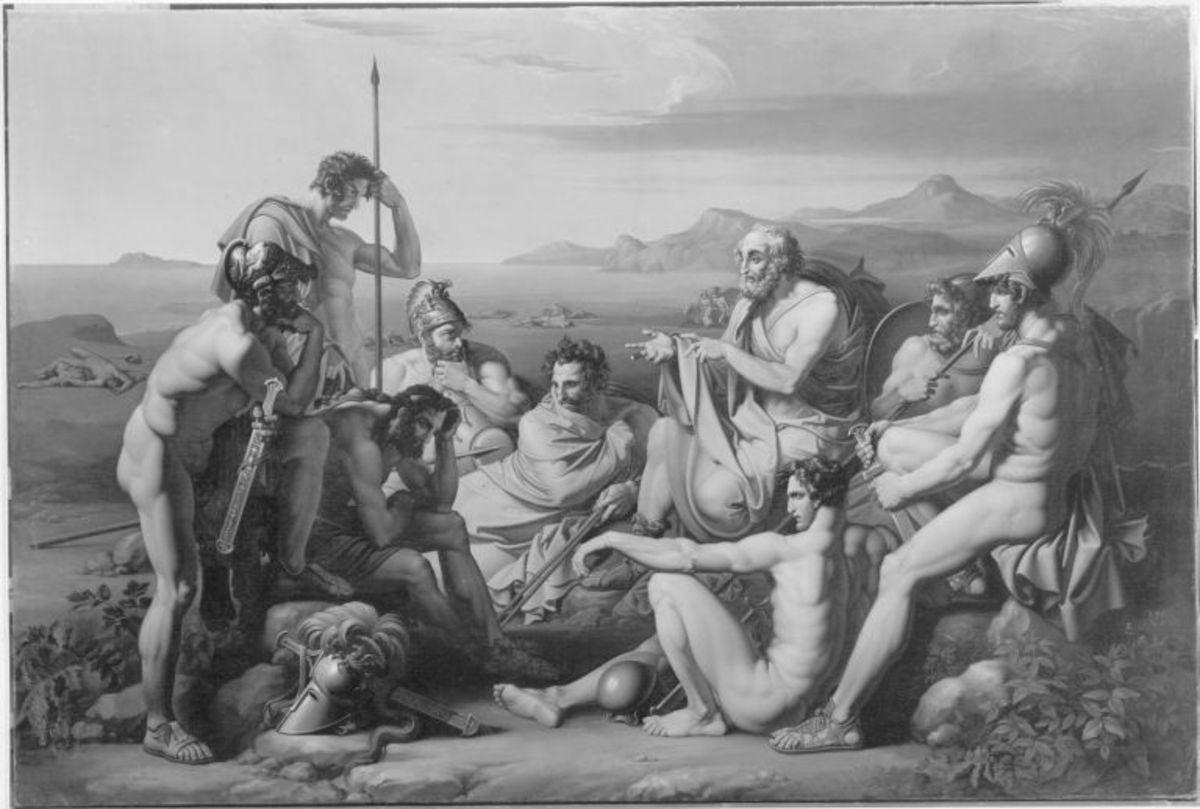 Die griechischen Helden vor Troja
