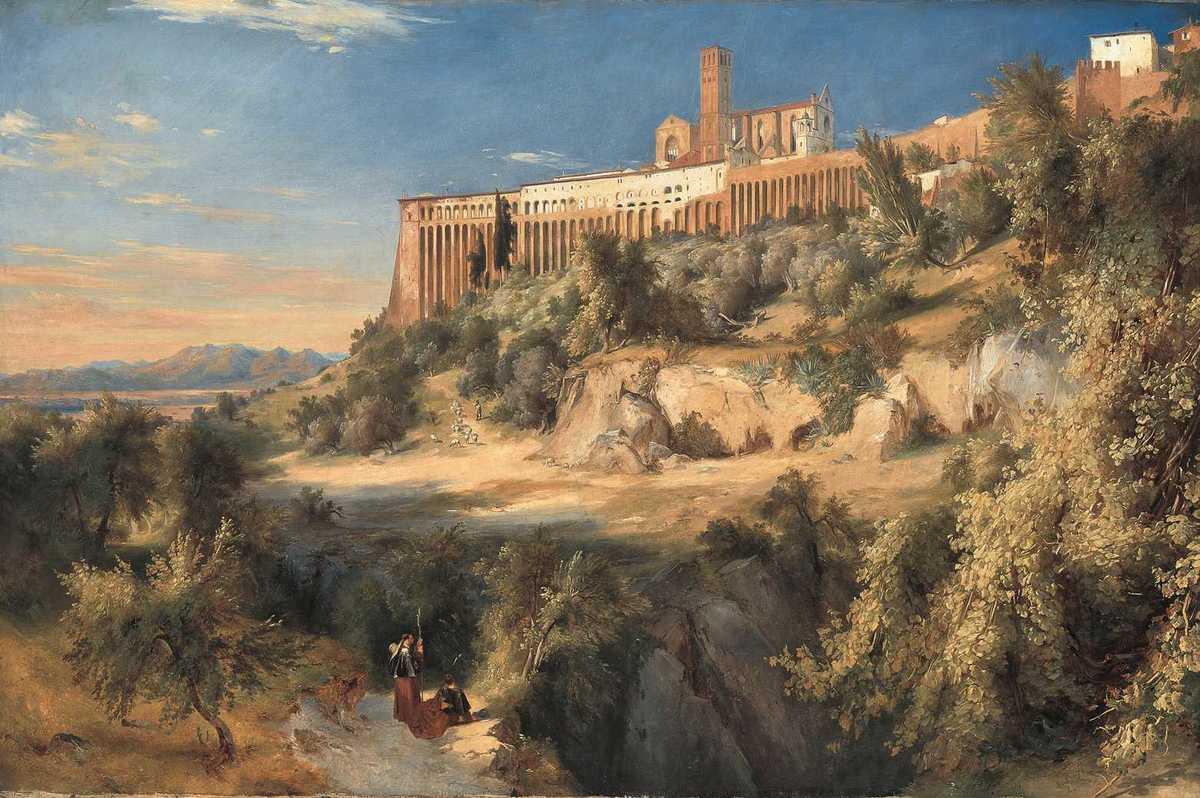 Blick auf Assisi