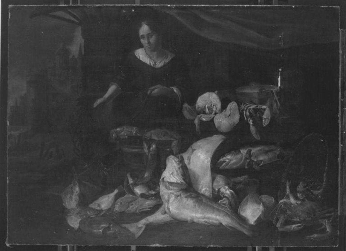 Die Fischhändlerin