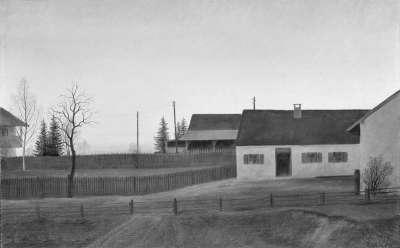 Landschaft bei Lochhausen
