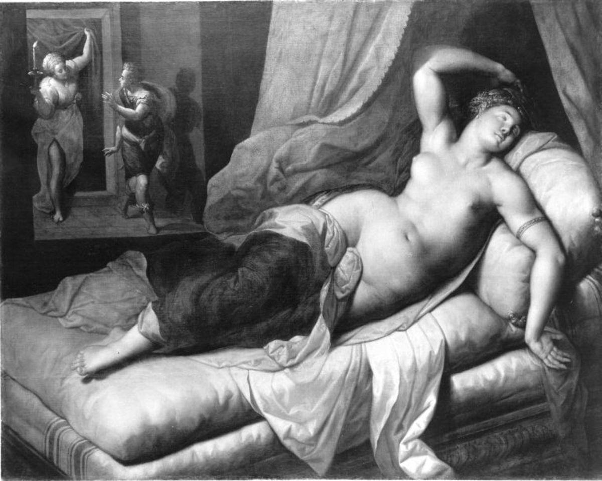 Schlafende Lucretia