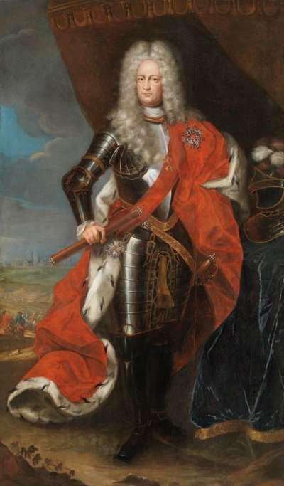 Bildnis des Kurfürsten Karl III. Philipp von der Pfalz als Feldherr
