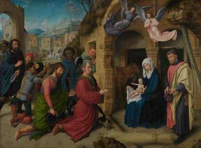 Die Anbetung der Könige (Kopie nach Hugo van der Goes)