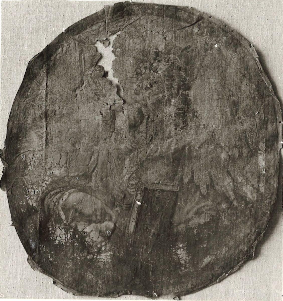 Allegorische weibliche Figur mit Buch