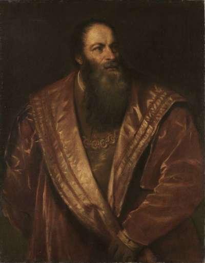Pietro Aretino (nach Tizian)