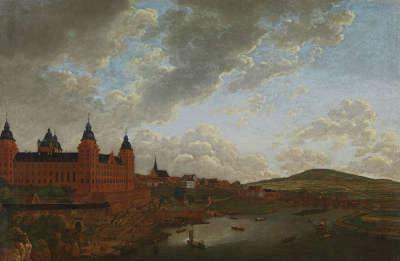 Das Aschaffenburger Schloss von Nordwesten (Aschaffenburger Zyklus)