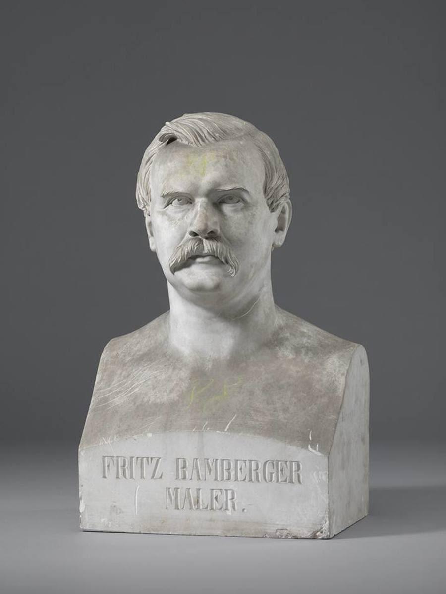 Der Landschaftsmaler Fritz Bamberger (1814 - 1873)