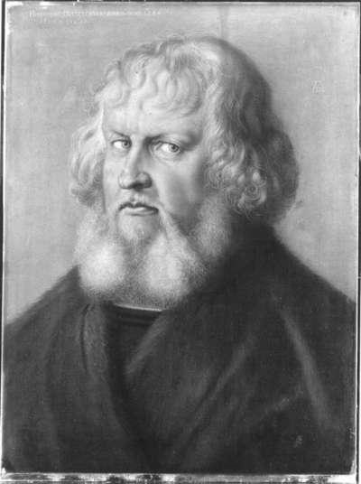 Bildnis Hieronymus Holzschuher (Reproduktion nach dem Original in Berlin)
