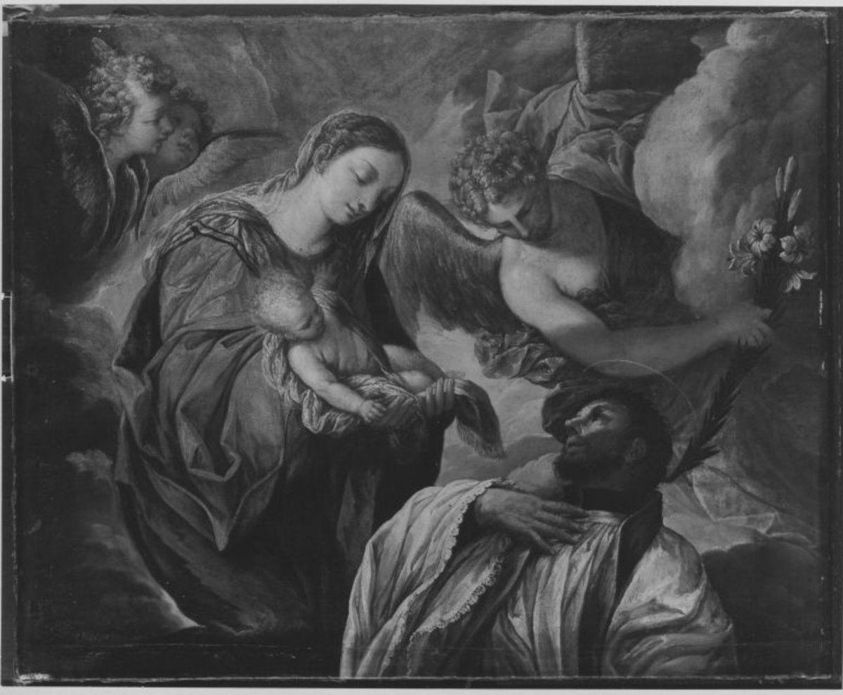 Die Madonna erscheint dem hl. Franz Xaverius
