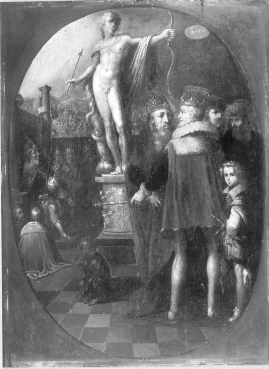 Apollo als Patron der Regierenden (nach Jan Saenredam)