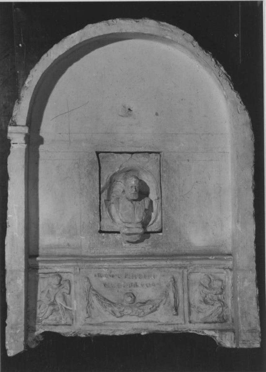 Fragment des Modells für das Denkmal von Joseph Joachim in Berlin
