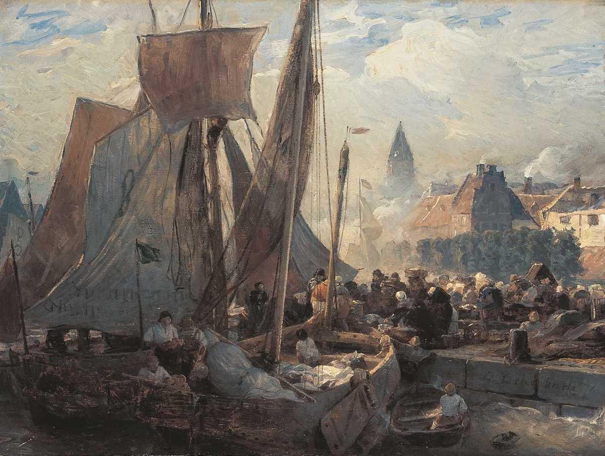 Fischmarkt in Ostende