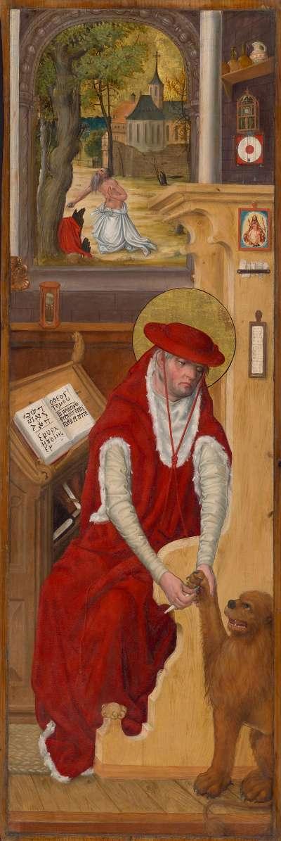 """""""Aschaffenburger Triptychon"""": Der hl. Hieronymus"""
