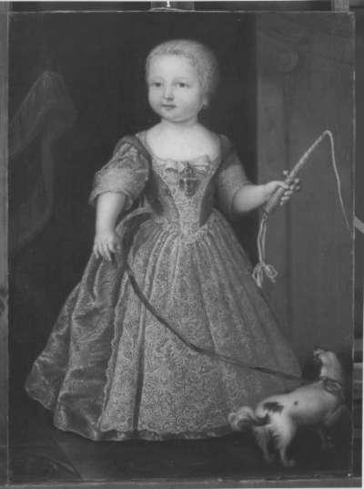 Bildnis einer kleinen Prinzessin