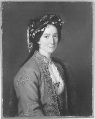 Bildnis der Madame Baudin
