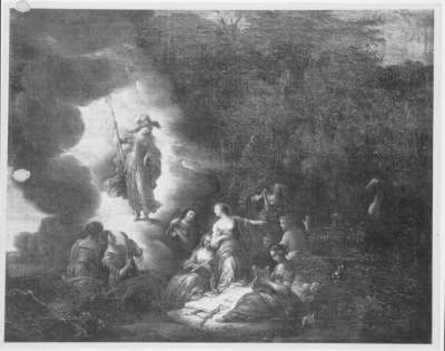Pallas und die Musen