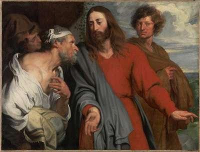 Christus und der Lahme
