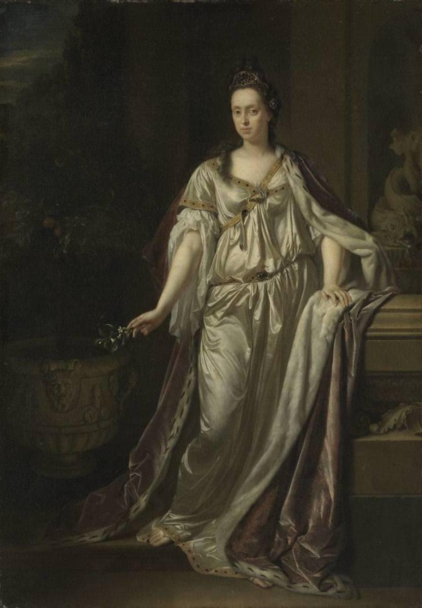 Bildnis der Anna Maria Louisa de' Medici, Kurfürstin von der Pfalz (1667-1743)