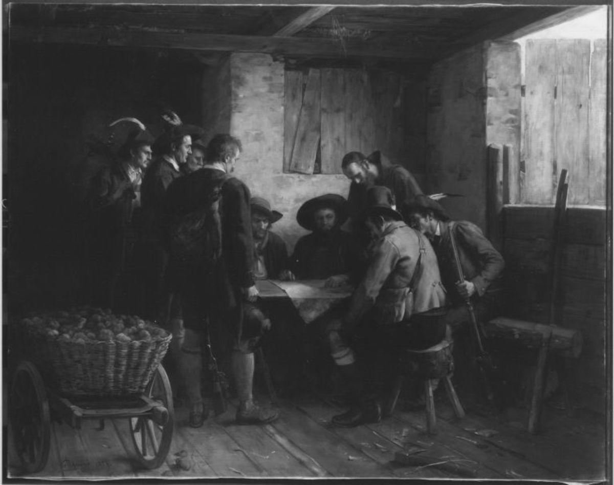 Der Kriegsrat Andreas Hofers im Jahr 1809