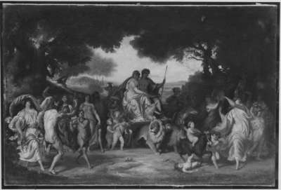 Einzug des Bacchus in den Hain von Kolonos