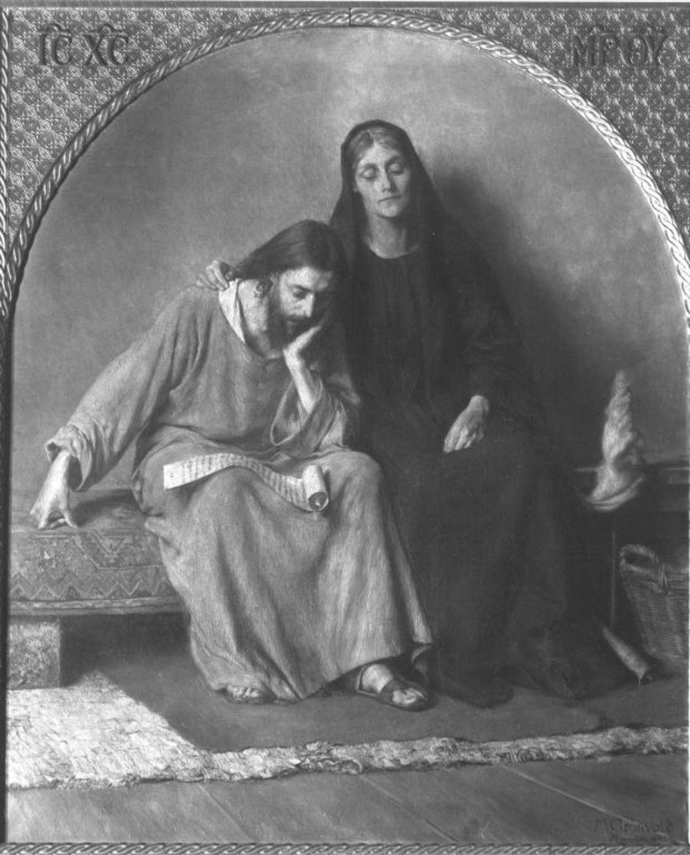 Christus und Maria