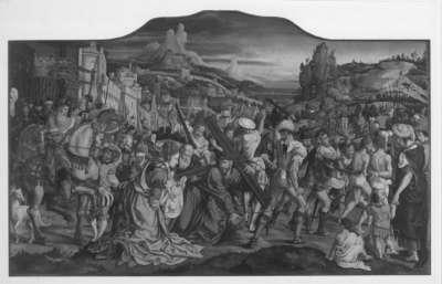 Siegen-Altar: Kreuztragung Christi