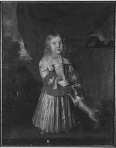 Kinderbildnis des Ludwig Anton von der Pfalz, Sohn des Kurfürsten Philipp von der Pfalz