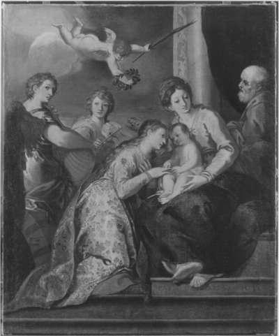 Vermählung der hl. Katharina