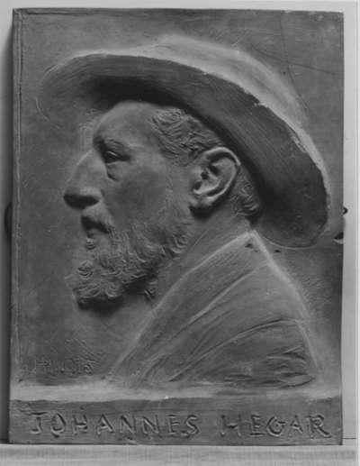 Der Cellist Johannes Hegar