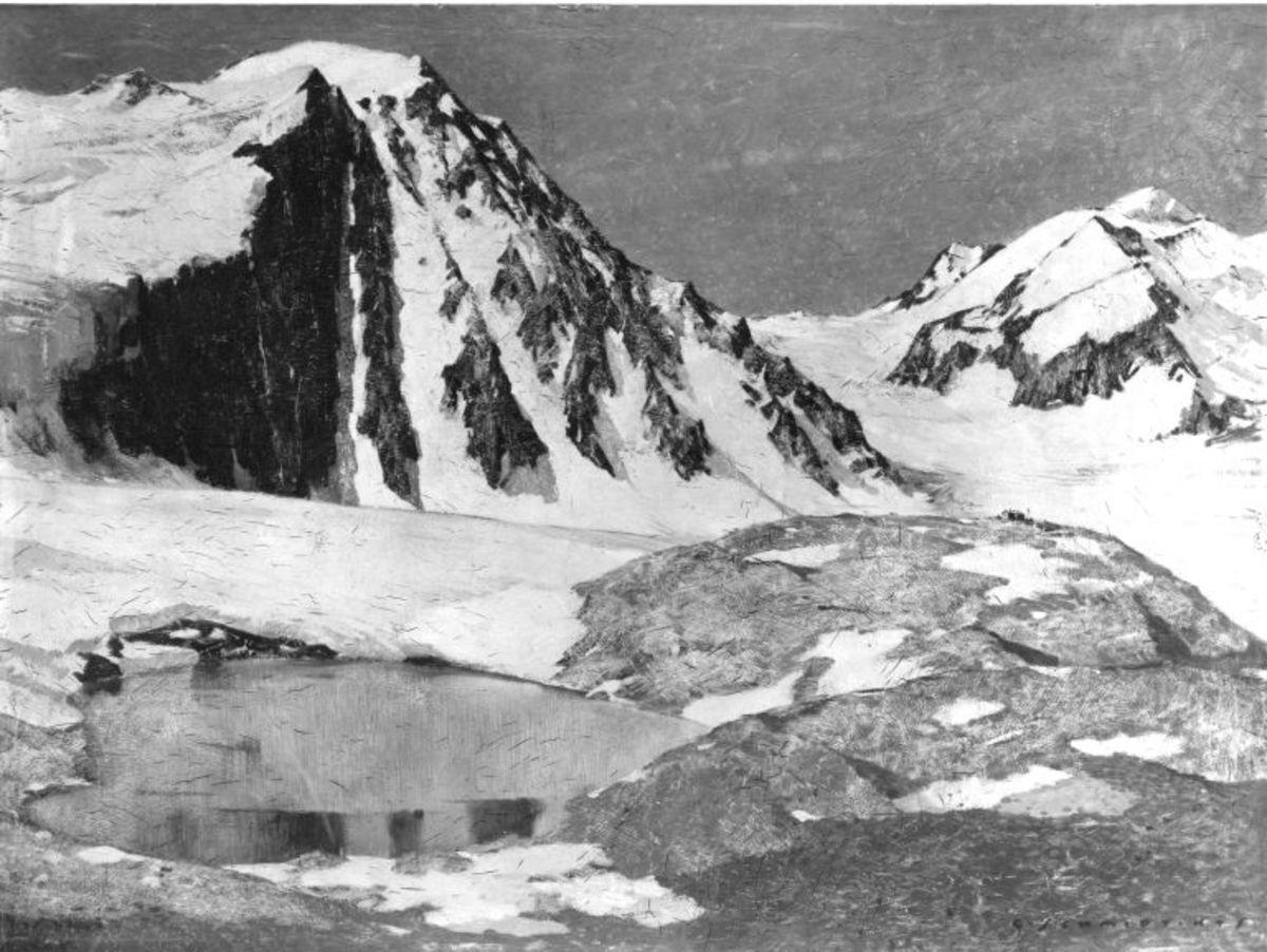 Winterlandschaft (Braunschweiger Hütte)