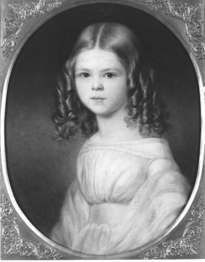 Sophie Mäß als Kind