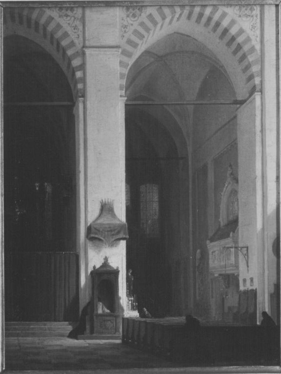 Inneres einer italienischen Kirche