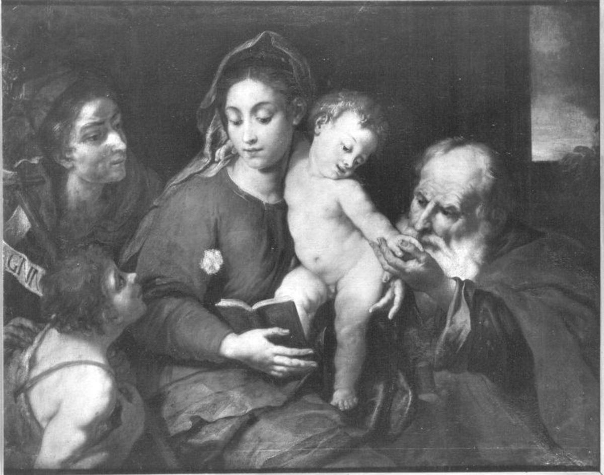 Die Heilige Familie mit dem Johannesknaben