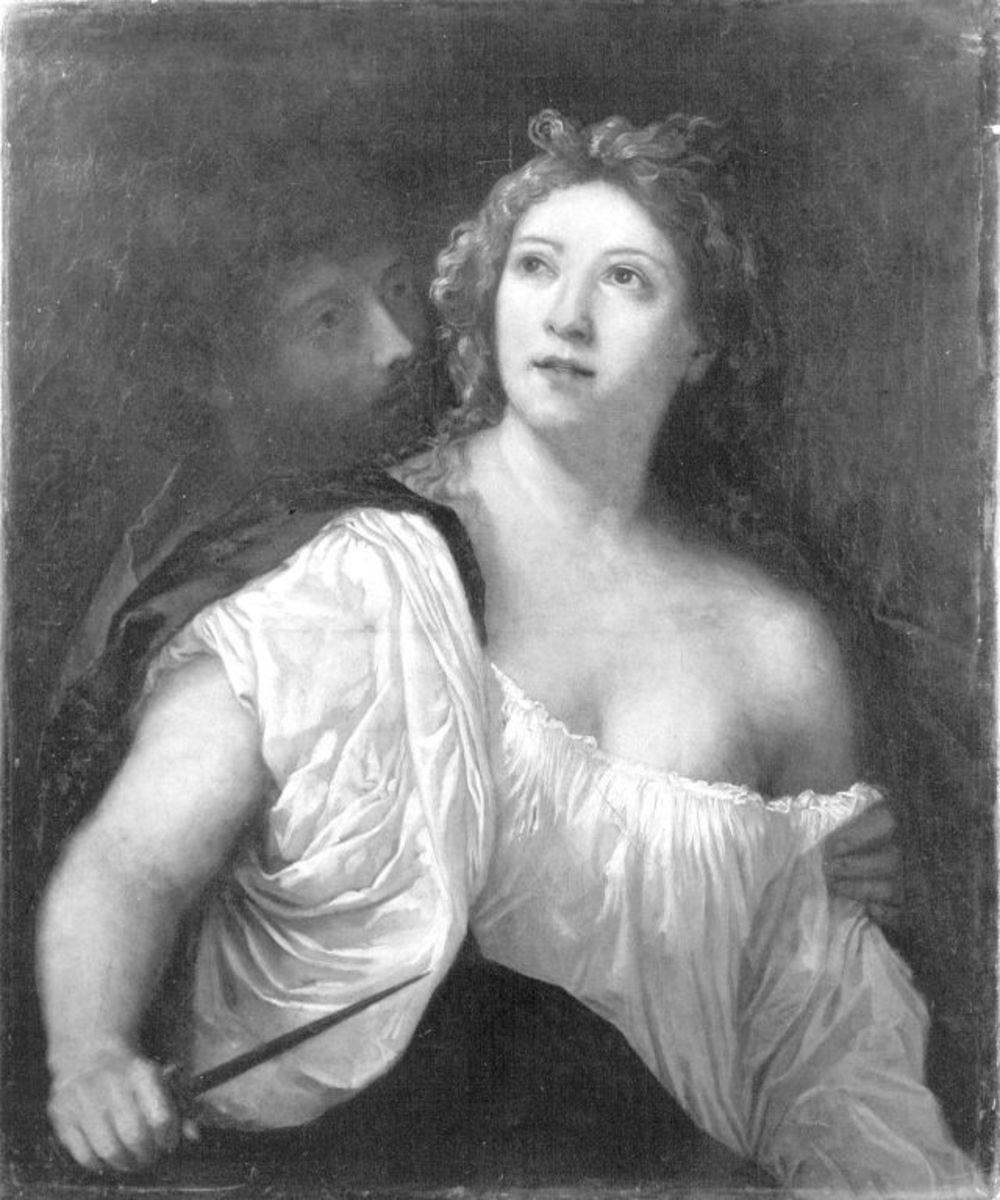 Selbstmord der Lukretia (nach Palma Vecchio)