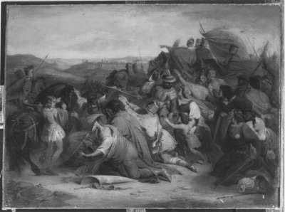 Kreuzfahrer vor Jerusalem