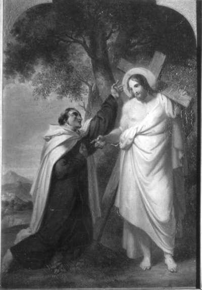 Christus erscheint Johannes vom Kreuz