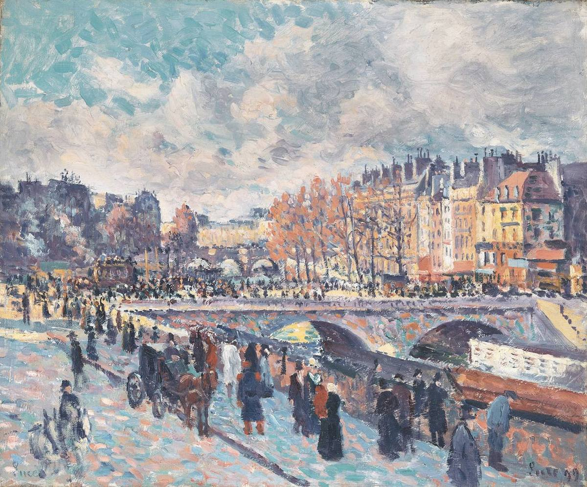 Seinequai in Paris