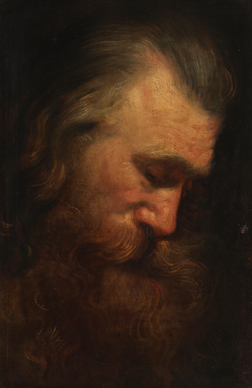 Studienkopf eines Apostels