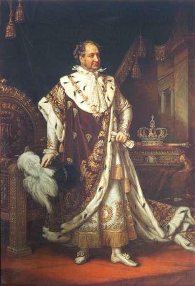 König Max I. Joseph im Krönungsornat