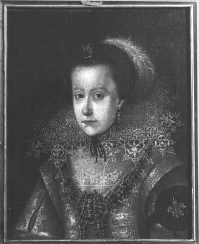 Unbekannte junge Fürstin