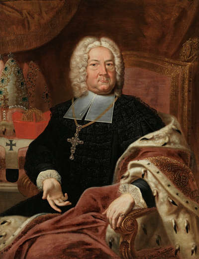 Bildnis des Friedrich Karl von Schönborn-Buchheim, Fürstbischof von Würzburg und Bamberg (1674-1746)