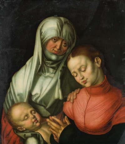 Anna selbdritt (Kopie nach dem Original in New York, ehemals München)
